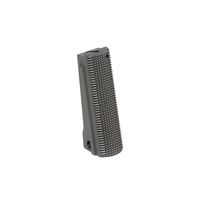 Government Stainless Mainspring Housing Checkered